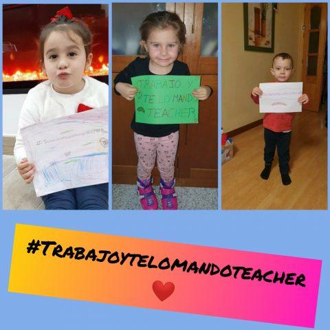 Infantil y su #trabajoytelomandoteacher