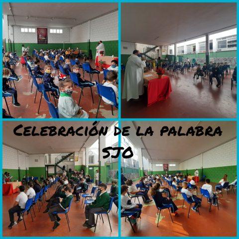Celebración de la palabra en SJO